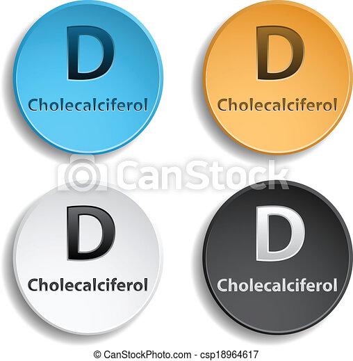 Vitamin D - csp18964617