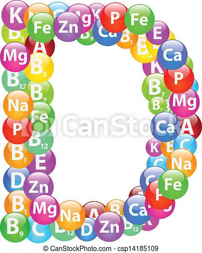 Vitamin Letter D - csp14185109