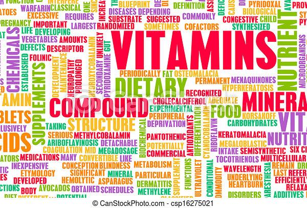 Vitamine - csp16275021