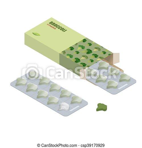 Pillen in Form von Diätpillen