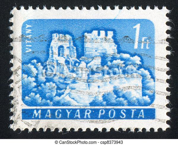 Vitany castle - csp8373943