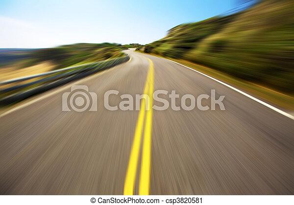 vitesse, hight, conduite - csp3820581