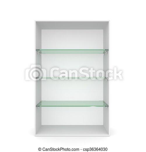 Vitrina estantes vidrio verde blanco vaco Vitrina dibujos