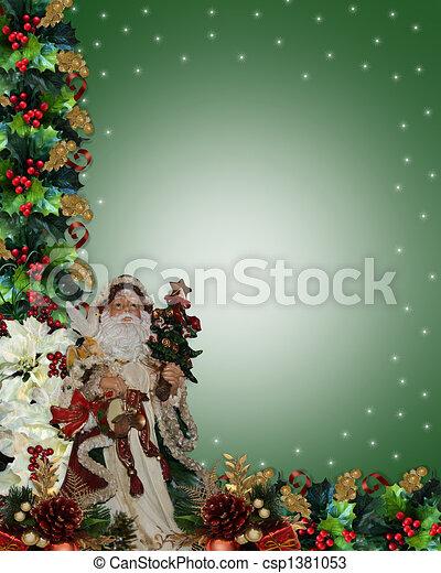 Immagini Natale Vittoriano.Vittoriano Bordo Natale Santa Vacanza Natale Cornice Foto