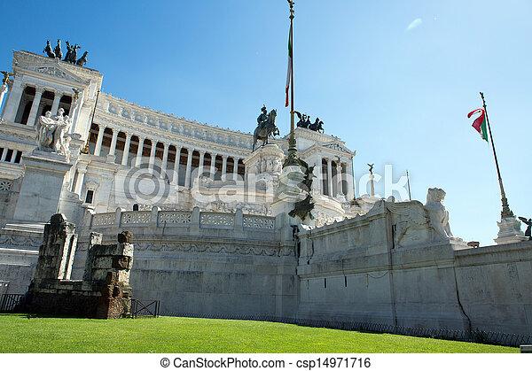 Vittoriano building - csp14971716