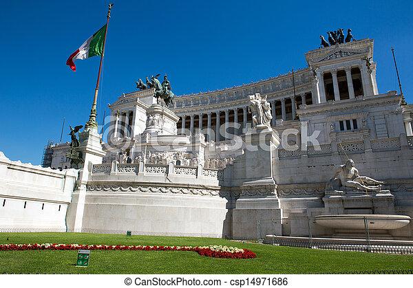 Vittoriano building - csp14971686