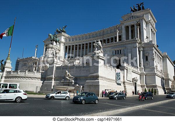 Vittoriano building - csp14971661