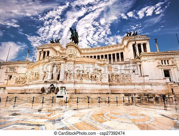 Vittoriano in Roma - csp27392474