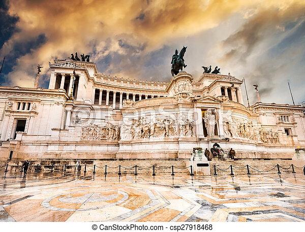 Vittoriano in Roma - csp27918468