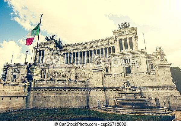 Vittoriano in Roma - csp26718802