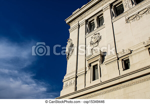 Vittoriano in Rome, Italy - csp15349446