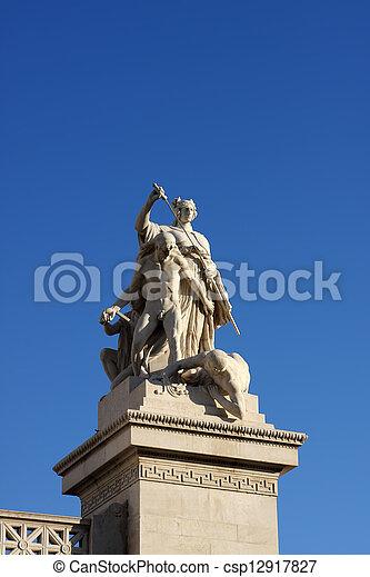 Vittoriano in Rome - csp12917827