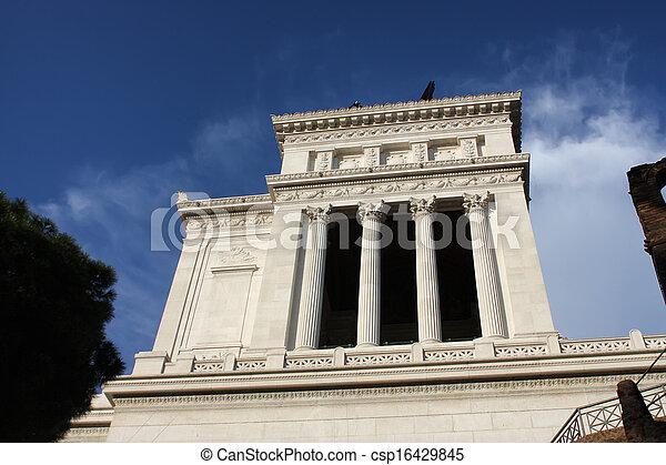 Vittoriano in Rome - csp16429845