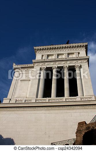 Vittoriano in Rome - csp24342094