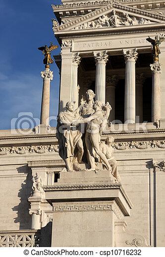 Vittoriano in Rome - csp10716232