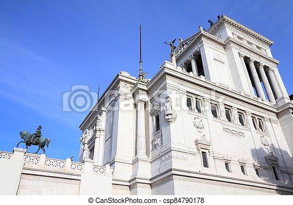 Vittoriano, Rome - csp84790178