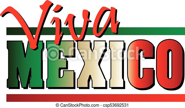 viva mexico banner mexican flag background border viva mexico rh canstockphoto com  free clipart american flag and soldier
