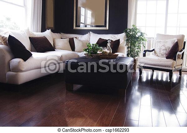 vivant, luxe, salle - csp1662293
