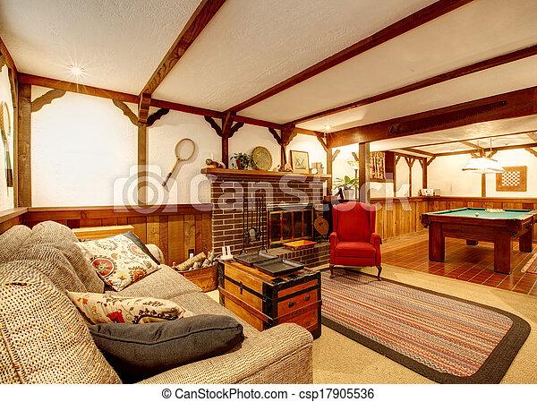vivant plafond confortable bois tapis rayons murs photos de stock rechercher des. Black Bedroom Furniture Sets. Home Design Ideas