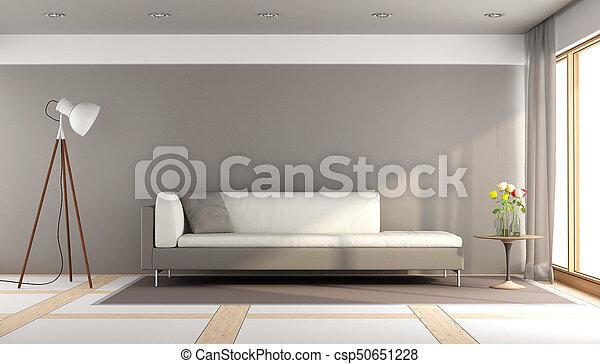 vivendo, quarto moderno - csp50651228