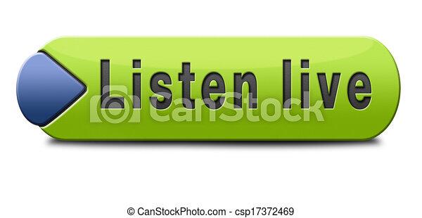 viver, escutar - csp17372469