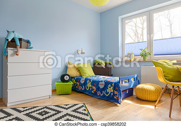 Vivid colors in a child room - csp39858202