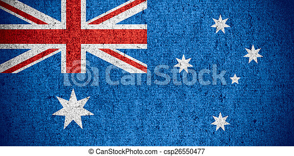 vlag, australië - csp26550477