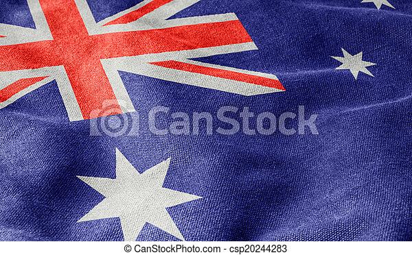 vlag, australië - csp20244283