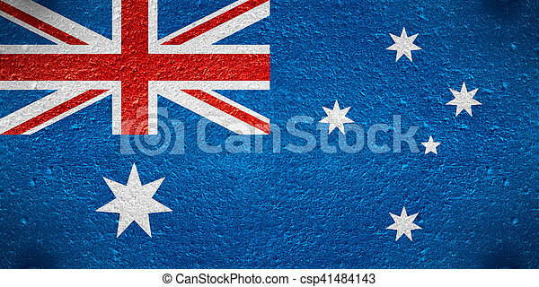 vlag, australië - csp41484143
