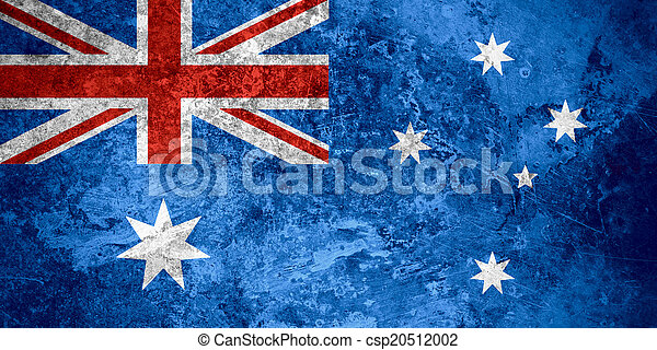 vlag, australië - csp20512002