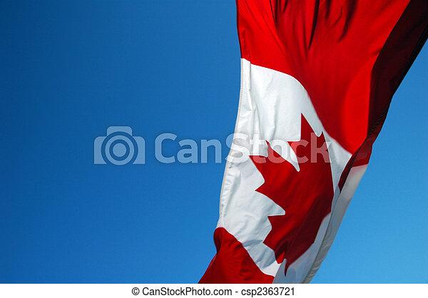 vlag, canadees - csp2363721