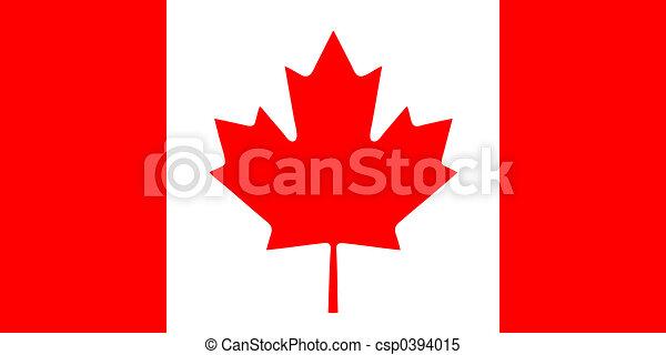 vlag, canadees - csp0394015