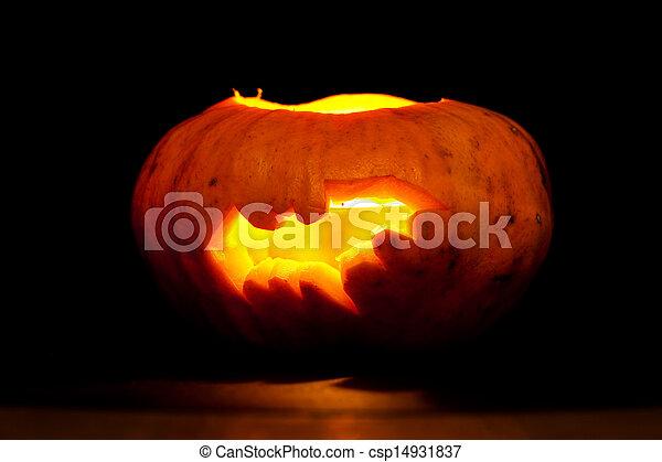 Pompoen Voor Halloween.Vleermuis Halloween Pompoen
