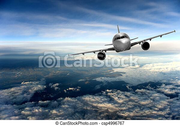 vliegtuig - csp4996767