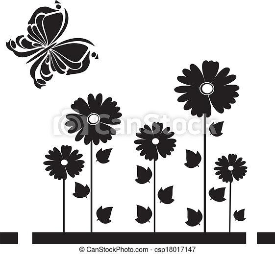 Essbare Schmetterlinge 3 - csp18017147