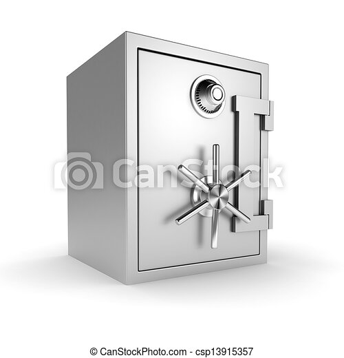 voûte, fond blanc, 3d - csp13915357