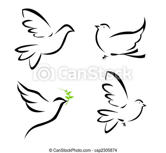 Populares Voando, pomba, ilustração desenho - Faça Busca em Ilustrações Clip  BQ54