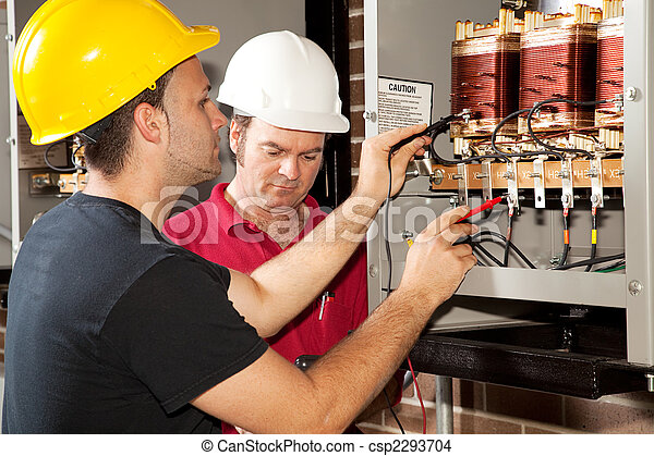 Vocational Training - Electrician - csp2293704