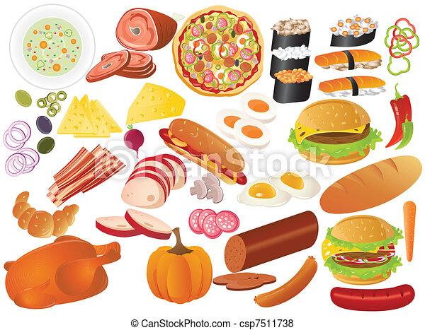 voedingsmiddelen - csp7511738