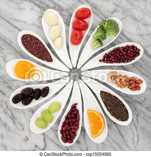 voedingsmiddelen, gezonde  - csp15054560