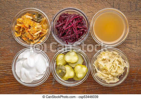 voedingsmiddelen, vergiste, sampler - csp53446039