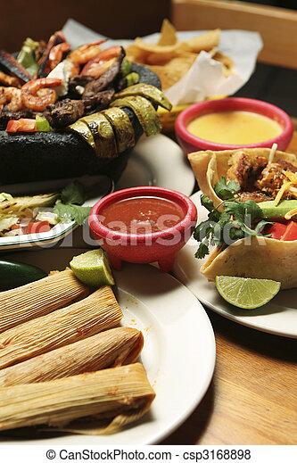 voedsel mexicaan, -, verticaal - csp3168898