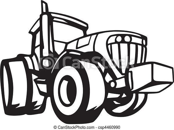 voertuigen, landbouw - csp4460990
