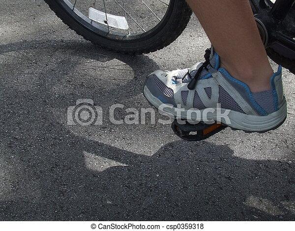 voet pedaal - csp0359318