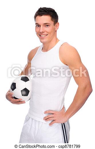 voetbal, ventilator - csp8781799
