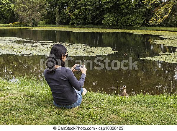 Vögel beobachten - csp10328423