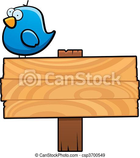 vogel, zeichen - csp3700549