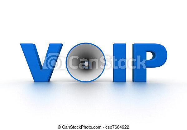 Voice Over IP - csp7664922