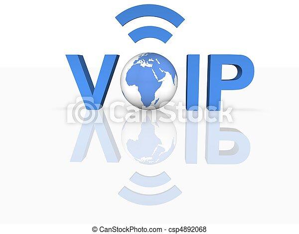 Voice Over IP - csp4892068
