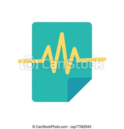 Voice record flat vector icon - csp77062943
